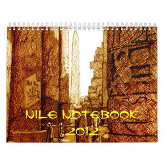 Nile Notebook - Calendar