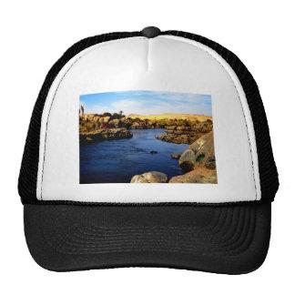 Nile River in Aswan river - Sahara Desert Trucker Hat