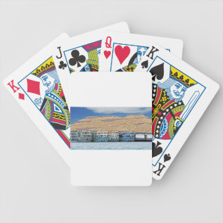 nile river bicycle playing cards