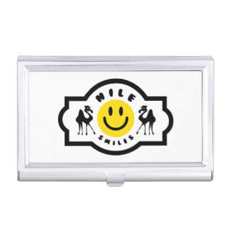 Nile Smiles business card holder