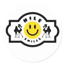 Nile Smiles Stickers