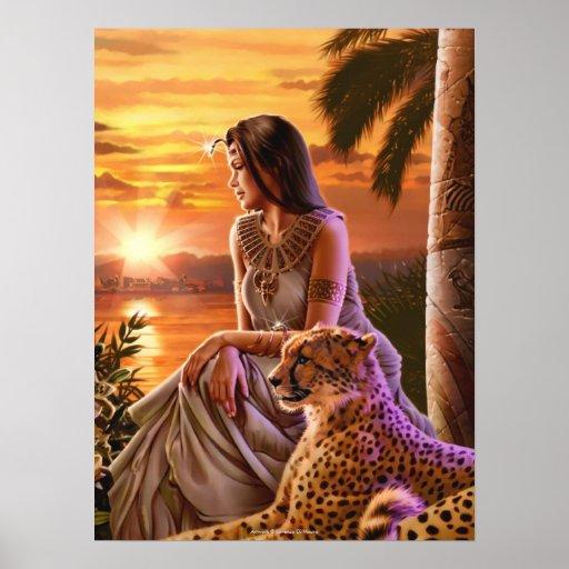 """Nile Sunset"" Art Print"