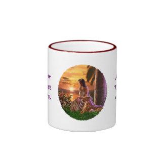 """""""Nile Sunset"""" Ringer Mug"""