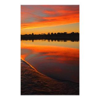 Nile Sunset Stationery