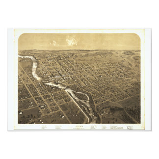 Niles, Berrien County, Michigan (1868) Card