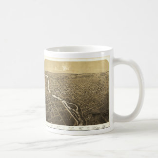 Niles, Berrien County, Michigan (1868) Coffee Mug