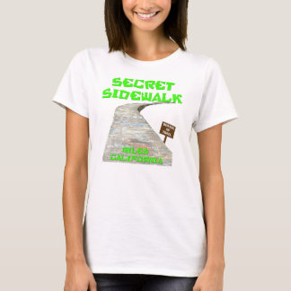 Niles Canyon Secret Sidewalk T-Shirt