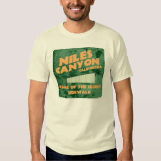 Niles Canyon T-shirt