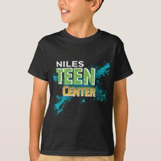 Niles Teen Center Logo Inverse T-Shirt