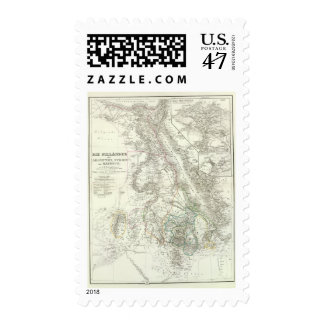 Nillander - The Nile, Africa Stamp