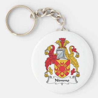 Nimmo Family Crest Keychain
