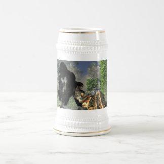 Nin@era del gorila jarra de cerveza