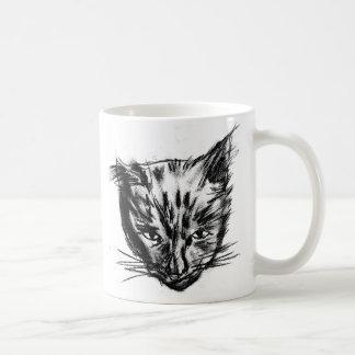 nina charcoal sk blk-wht classic white coffee mug
