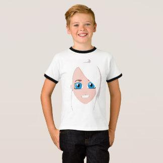 Nina children T-shirt boy with edge
