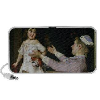Niña con una muñeca y su enfermera, 1896 iPhone altavoces