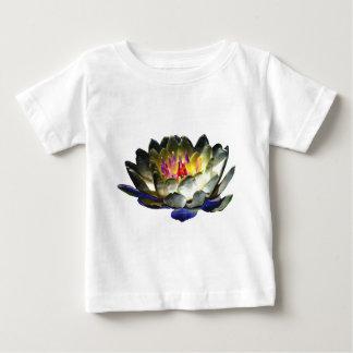 Niña de la camiseta del lirio playera