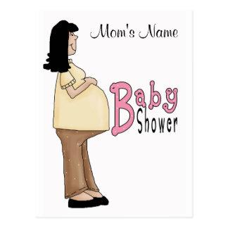 Niña de la mamá - modificada para requisitos tarjetas postales