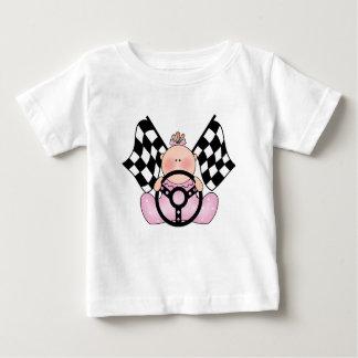Niña del ganador de la raza de Lil Playera De Bebé