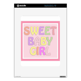 Niña dulce iPad skins