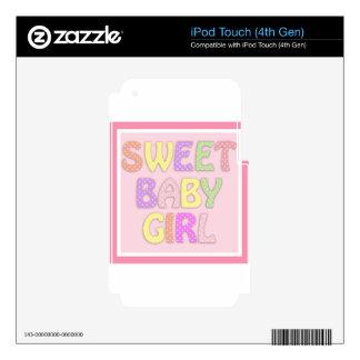 Niña dulce skins para iPod touch 4G