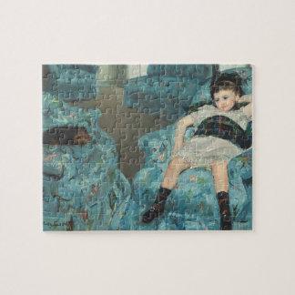Niña en una butaca azul, 1878 (oi puzzles