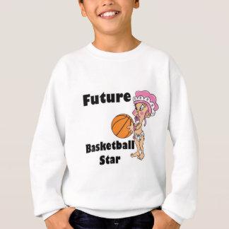 niña futura de la estrella del baloncesto camisas