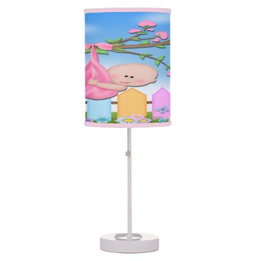 Niña - lámpara de mesa del patio trasero
