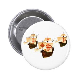 Nina Pinta & Santa Maria Button
