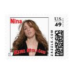 Nina - rebelde con un sello de la causa