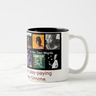 Nina Simone: In Her Own Words Coffee Mugs