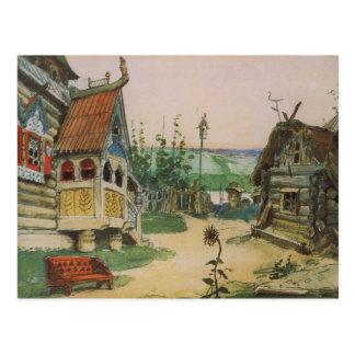 Nina Slobodka Berendeevka by Viktor Vasnetsov Postcard