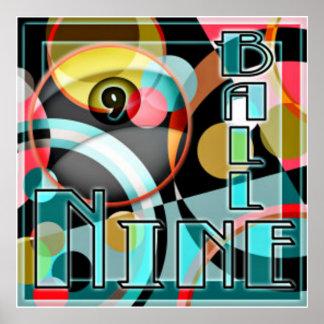 Nine Ball Panic Poster