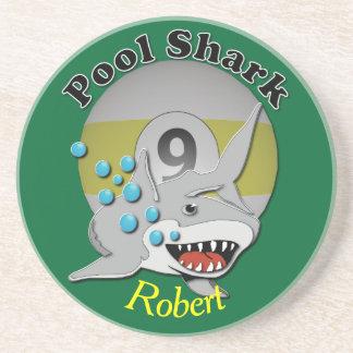Nine Ball Pool Shark Coasters