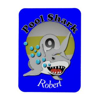Nine Ball Pool Shark Magnet