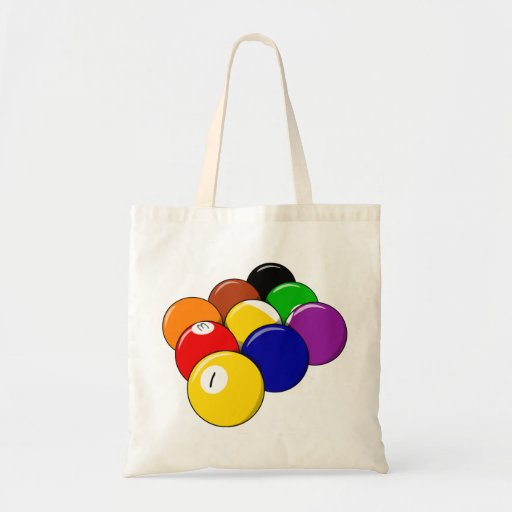 Nine Ball Rack Tote Bag