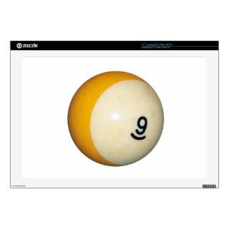 Nine Ball Laptop Skin