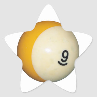 Nine Ball Star Sticker