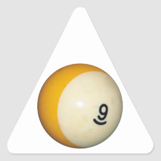 Nine Ball Triangle Sticker