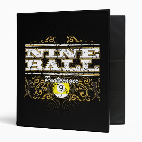 Nine Ball Vintage Design Binder