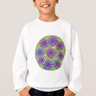 Nine BlueStar n Holy Purple Stars Sweatshirt