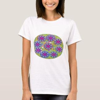 Nine BlueStar n Holy Purple Stars T-Shirt