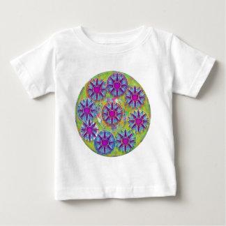 Nine BlueStar n Holy Purple Stars Tee Shirt