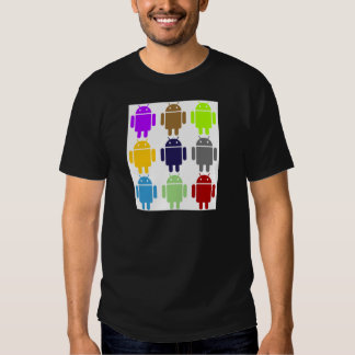 Nine Bug Droids (Android Multiple Colors Humor) Shirt