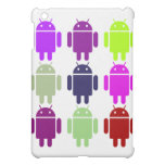 Nine Bug Droids (Android Multiple Purple Colors) Case For The iPad Mini