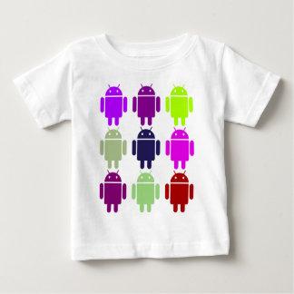 Nine Bug Droids (Android Multiple Purple Colors) Shirt