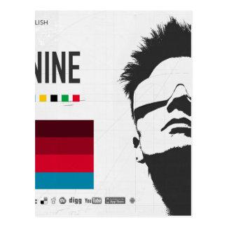 Nine by Kelvin Huggins Postcard