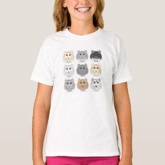 Nine Chinchilla Design T-Shirt