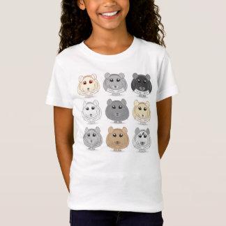 Nine Chinchilla Design Youth T-shirt