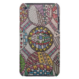 Nine Circles Design 4th Generation iPod Touch Cas Barely There iPod Cover