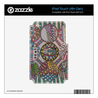 Nine Circles Design iPod Touch (4th Gen) Skin Skin For iPod Touch 4G